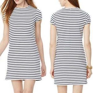 Ralph Lauren Navy & White Striped Mini Dress (L)